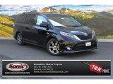 2015 Attitude Black Toyota Sienna SE #105175592