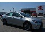 2015 Celestial Silver Metallic Toyota Camry SE #105175845