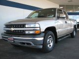 2002 Light Pewter Metallic Chevrolet Silverado 1500 LS Extended Cab 4x4 #10507110
