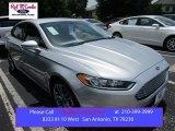 2016 Ingot Silver Metallic Ford Fusion Titanium #105175725
