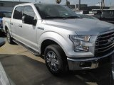 2015 Ingot Silver Metallic Ford F150 XLT SuperCrew #105175722