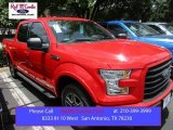 2015 Race Red Ford F150 XLT SuperCrew #105175710