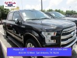 2015 Tuxedo Black Metallic Ford F150 King Ranch SuperCrew 4x4 #105175706