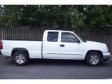 2006 Summit White Chevrolet Silverado 1500 LT Extended Cab #10507890