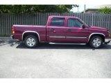2006 Sport Red Metallic Chevrolet Silverado 1500 LT Crew Cab #10507891