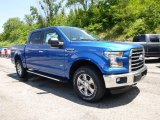 2015 Blue Flame Metallic Ford F150 XLT SuperCrew 4x4 #105175802