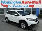 2013 White Diamond Pearl Honda CR-V EX AWD #105175786