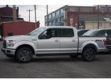 2015 Ingot Silver Metallic Ford F150 XLT SuperCrew 4x4 #105212926
