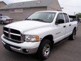 2005 Bright White Dodge Ram 1500 SLT Quad Cab 4x4 #10496090