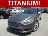 2013 Sterling Gray Metallic Ford Fusion Titanium #105212774