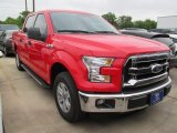 2015 Race Red Ford F150 XLT SuperCrew #105212838