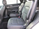 2016 Ford Explorer Limited Ebony Black Interior