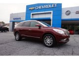 2015 Crimson Red Tintcoat Buick Enclave Leather #105213103