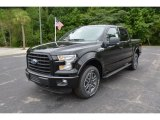 2015 Tuxedo Black Metallic Ford F150 XLT SuperCrew 4x4 #105213168