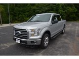 2015 Ingot Silver Metallic Ford F150 XLT SuperCrew #105213166