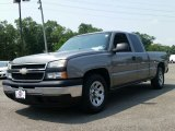 2007 Graystone Metallic Chevrolet Silverado 1500 Classic Work Truck Extended Cab #105212783