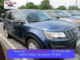 2016 Blue Jeans Metallic Ford Explorer FWD #105250832