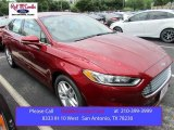 2016 Ruby Red Metallic Ford Fusion SE #105250827