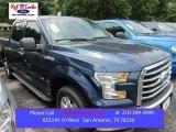 2015 Blue Jeans Metallic Ford F150 XLT SuperCrew #105250814