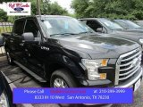 2015 Tuxedo Black Metallic Ford F150 XLT SuperCrew #105250811