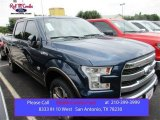 2015 Blue Jeans Metallic Ford F150 King Ranch SuperCrew 4x4 #105250807