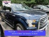 2015 Blue Jeans Metallic Ford F150 XLT SuperCrew #105250805