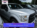 2015 Ingot Silver Metallic Ford F150 XL SuperCrew #105250801