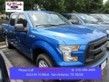 2015 Blue Flame Metallic Ford F150 XL SuperCrew #105250800