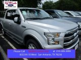 2015 Ingot Silver Metallic Ford F150 Lariat SuperCrew #105250797