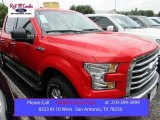2015 Race Red Ford F150 XLT SuperCrew 4x4 #105250791