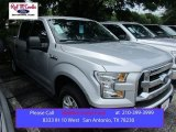2015 Ingot Silver Metallic Ford F150 XLT SuperCrew #105250788