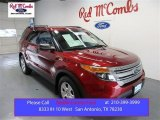 2013 Ruby Red Metallic Ford Explorer FWD #105250845