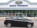 2013 Tuxedo Black Ford Focus Titanium Sedan #105250982