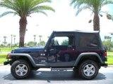 2006 Midnight Blue Pearl Jeep Wrangler X 4x4 #10494197