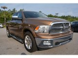 2012 Saddle Brown Pearl Dodge Ram 1500 Laramie Longhorn Crew Cab #105251052