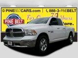 2014 Bright White Ram 1500 SLT Quad Cab 4x4 #105250726