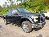 2015 Tuxedo Black Metallic Ford F150 XLT SuperCrew 4x4 #105282682
