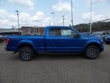 2015 Blue Flame Metallic Ford F150 XLT SuperCab 4x4 #105282652