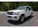 2015 White Platinum Metallic Tri-Coat Ford Expedition Limited #105282904