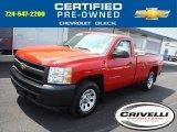 2011 Victory Red Chevrolet Silverado 1500 Regular Cab 4x4 #105282889