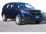 2015 Obsidian Blue Pearl Honda CR-V LX #105325949