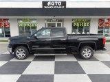 2014 Onyx Black GMC Sierra 1500 SLT Double Cab 4x4 #105330453