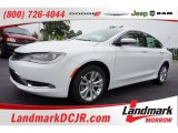 2015 Bright White Chrysler 200 Limited #105330338