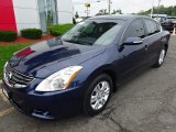 Navy Blue Nissan Altima in 2012