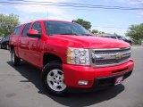 2011 Victory Red Chevrolet Silverado 1500 LTZ Crew Cab 4x4 #105330485
