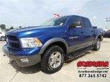2011 Deep Water Blue Pearl Dodge Ram 1500 ST Crew Cab 4x4 #105347778
