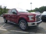 2015 Ruby Red Metallic Ford F150 XLT SuperCab 4x4 #105347750