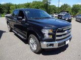 2015 Tuxedo Black Metallic Ford F150 Lariat SuperCrew 4x4 #105348009