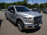 2015 Ingot Silver Metallic Ford F150 XLT SuperCrew 4x4 #105348007