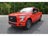 2015 Race Red Ford F150 XLT SuperCrew 4x4 #105390549